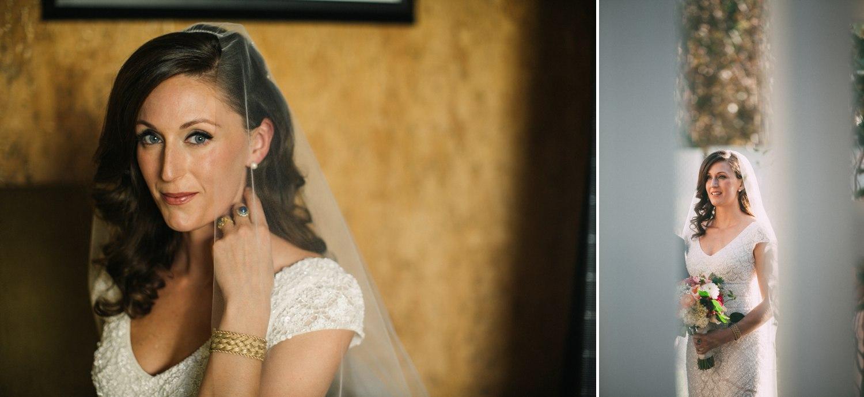 bride bridal portrait