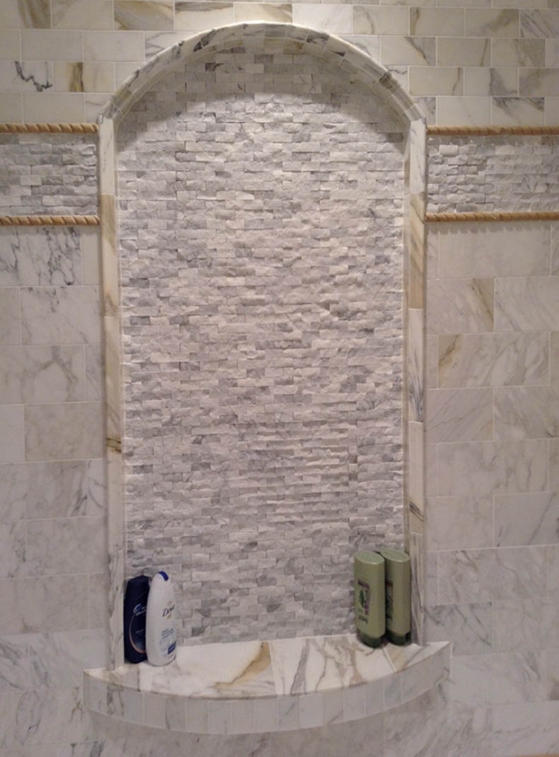 Calacatta Master Bath