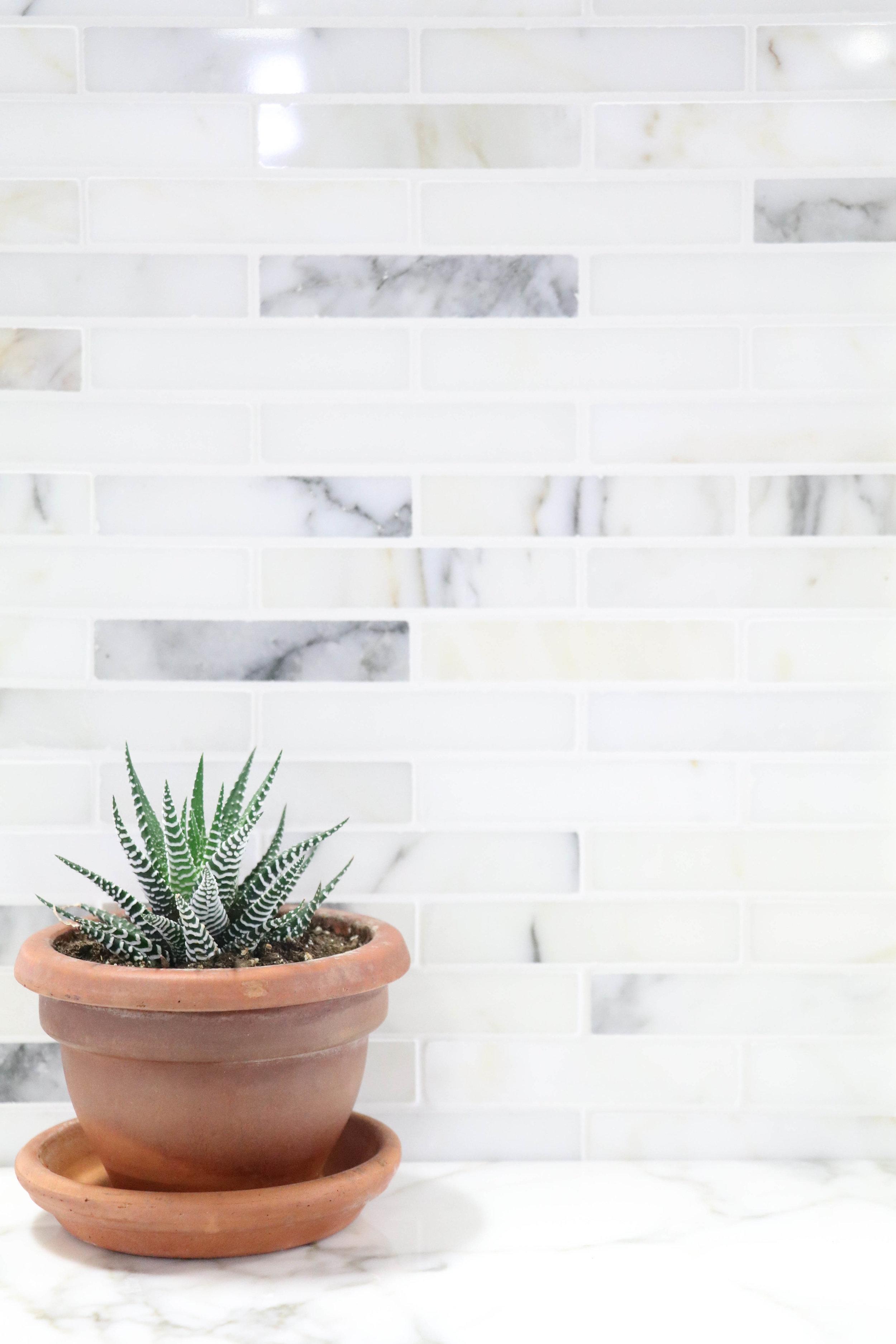 Calacatta Mini Brick