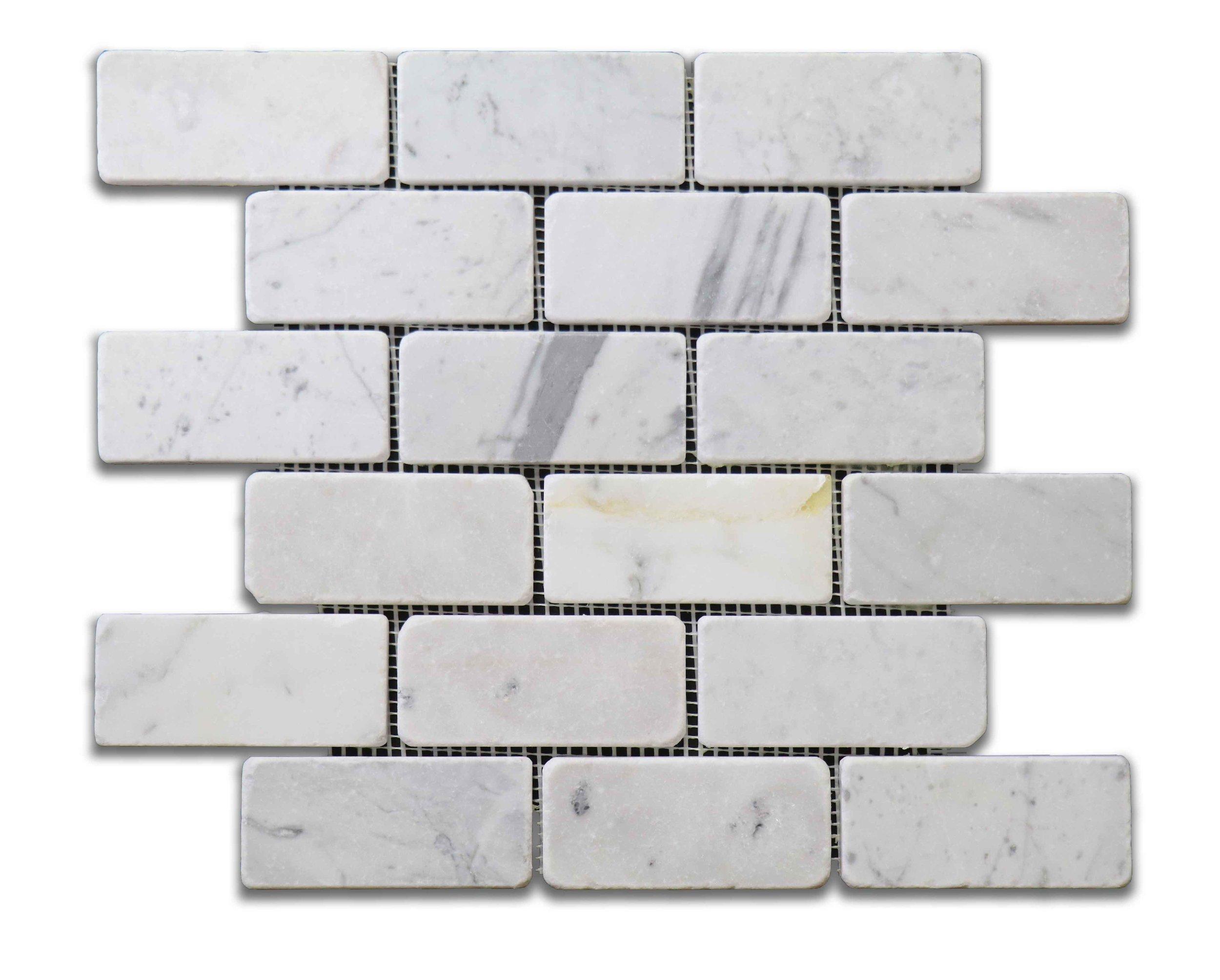 """Antique Carrara 2""""x4"""""""