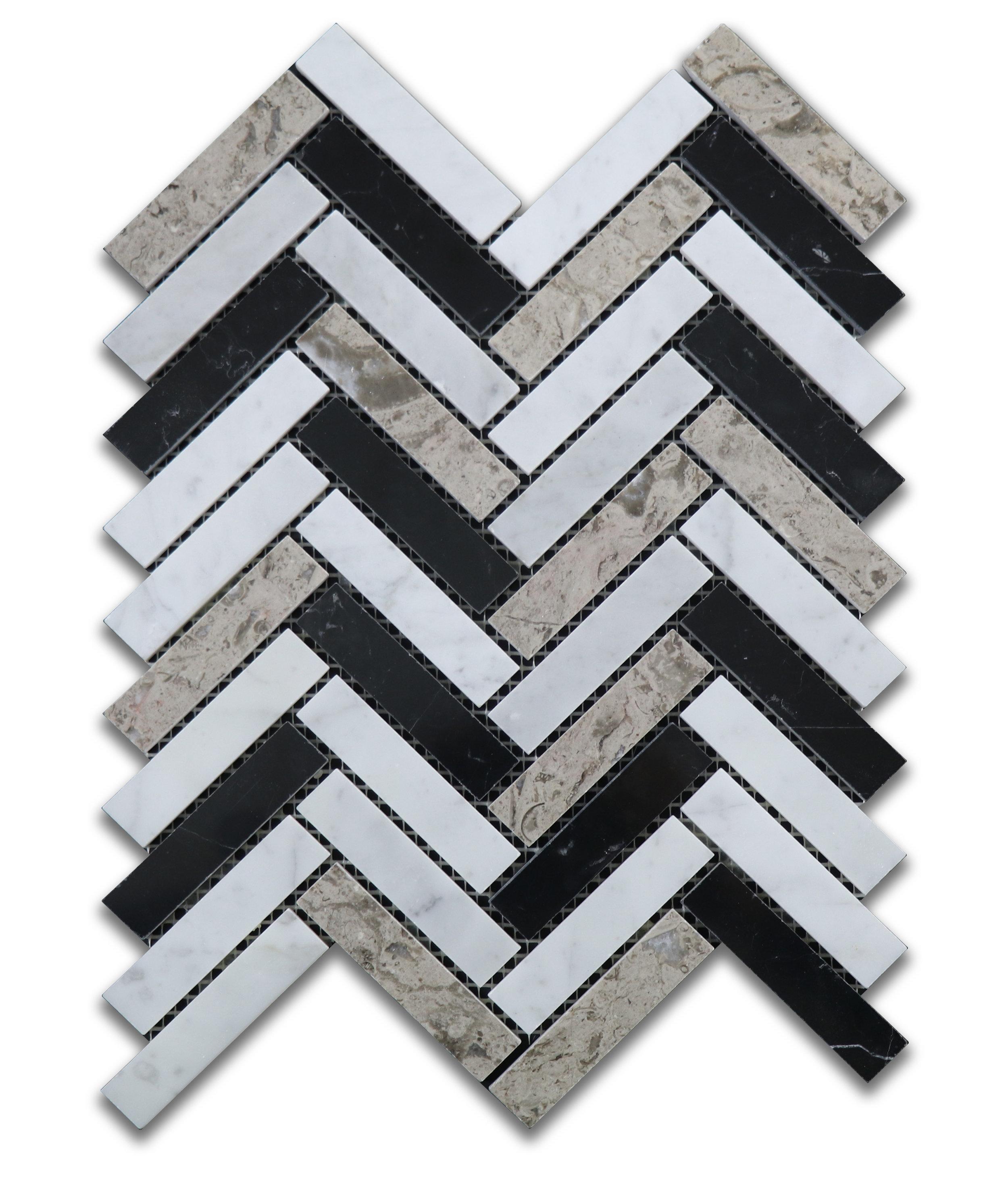 Taylor Herringbone Mosaic