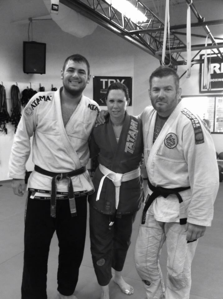 After sharing the mats with Chris and his students once again, always a pleasure!