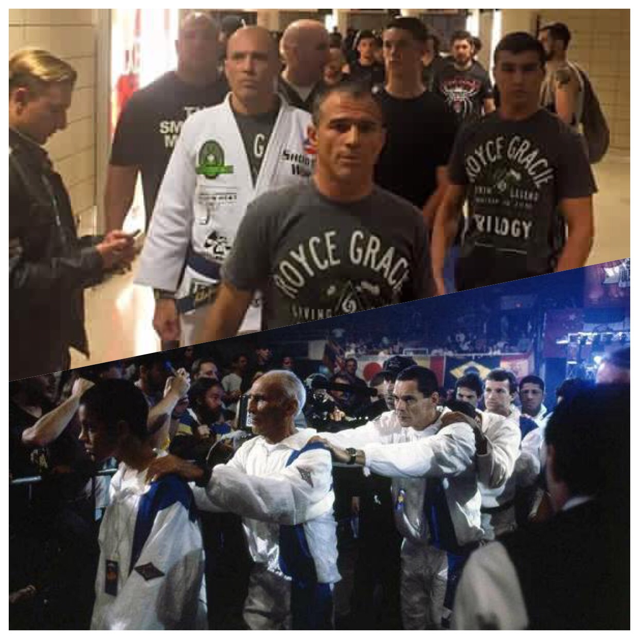 The Gracie train 20+ years then and now