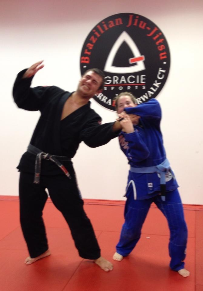 Love the Gracie Sports family! They don't appreciate my wrist locks though :'( hahahaha