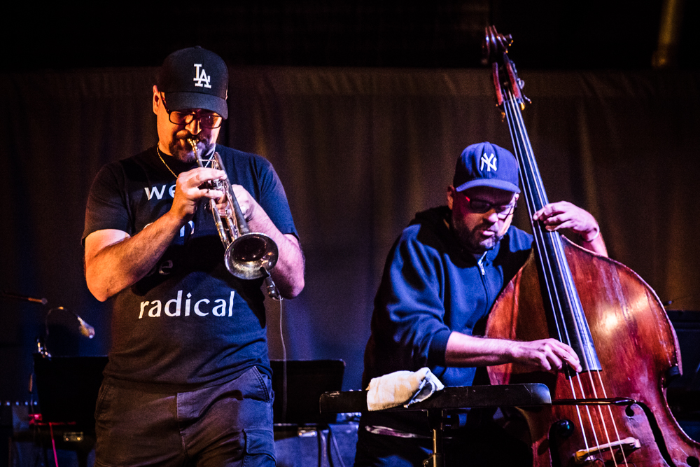 Dan Rosenboom & Richard Giddens at the Angel City Jazz Festival MetalJazz Night at Zebulon Cafe Concert, Los Angeles, CA 2017