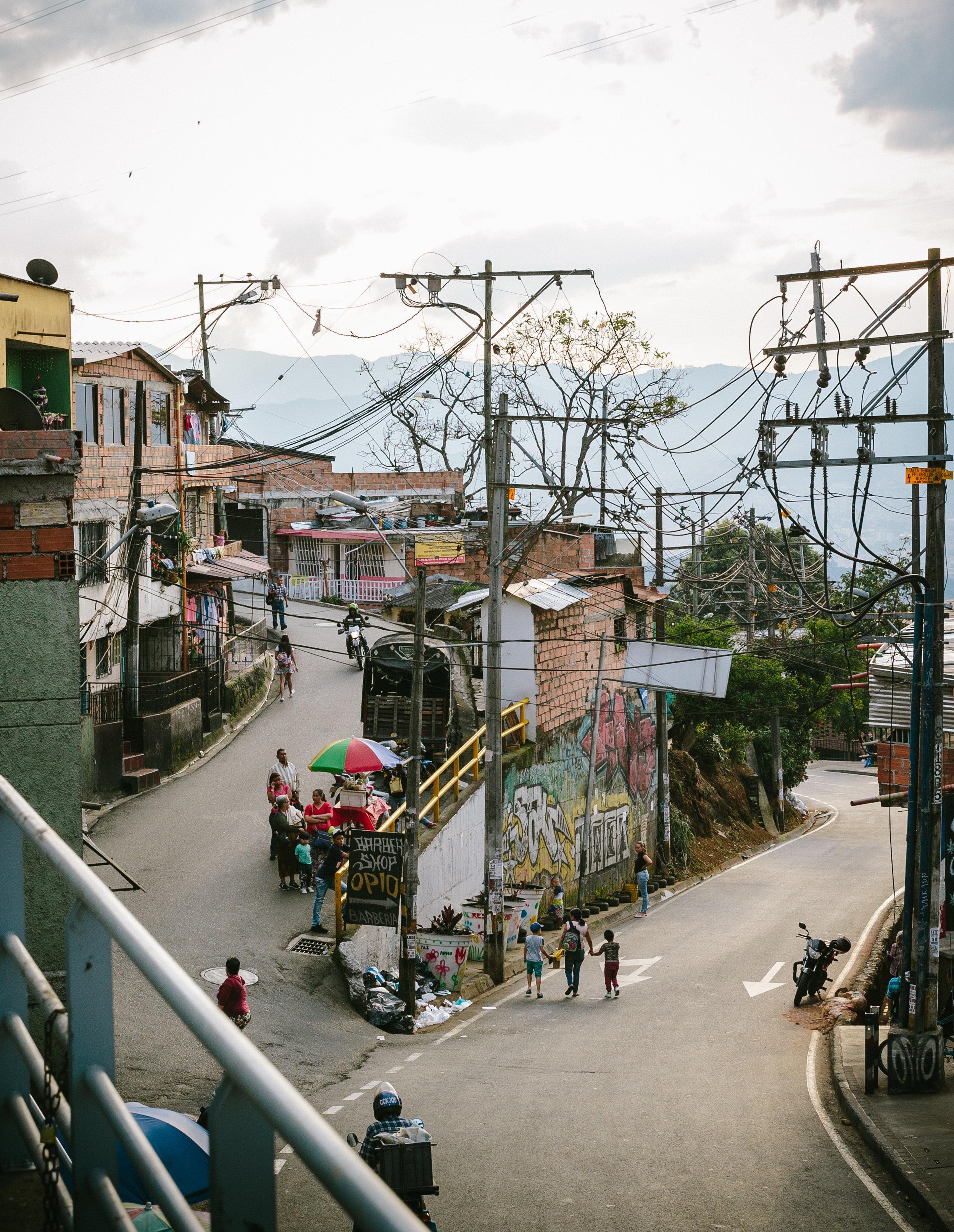 the Carpinelo neighborhood