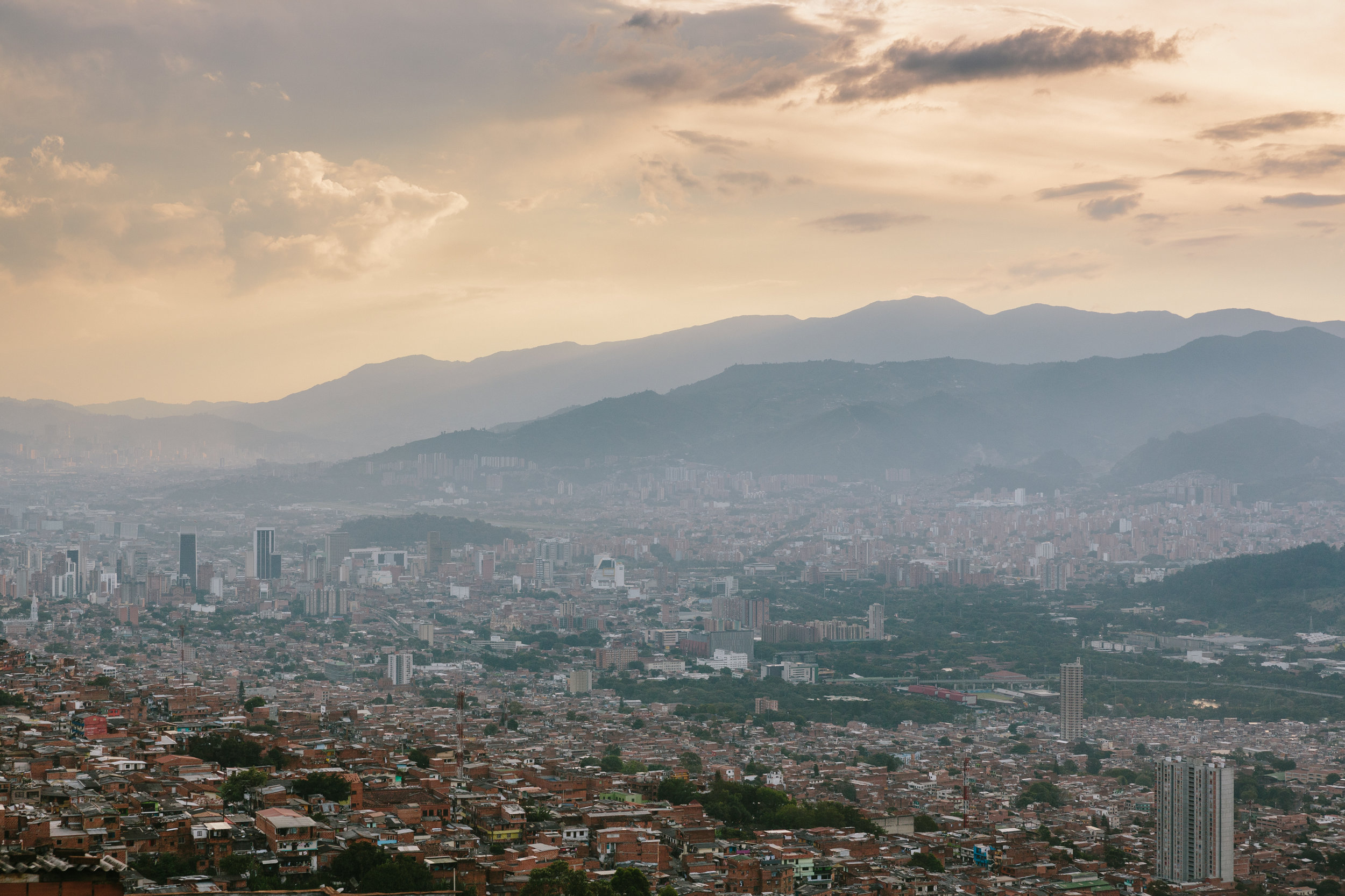 The stunning city of Medellin