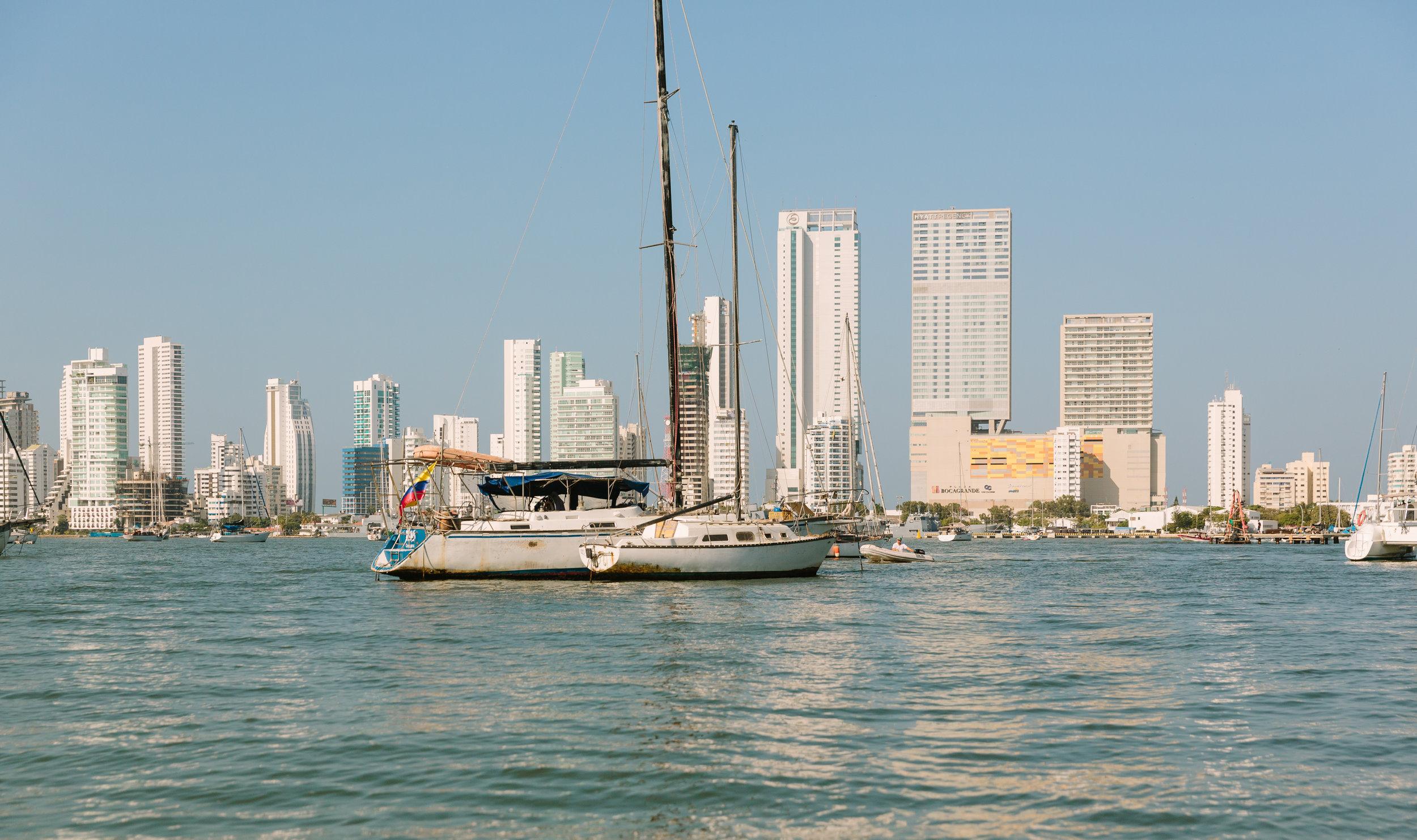 The Bay of Cartagena