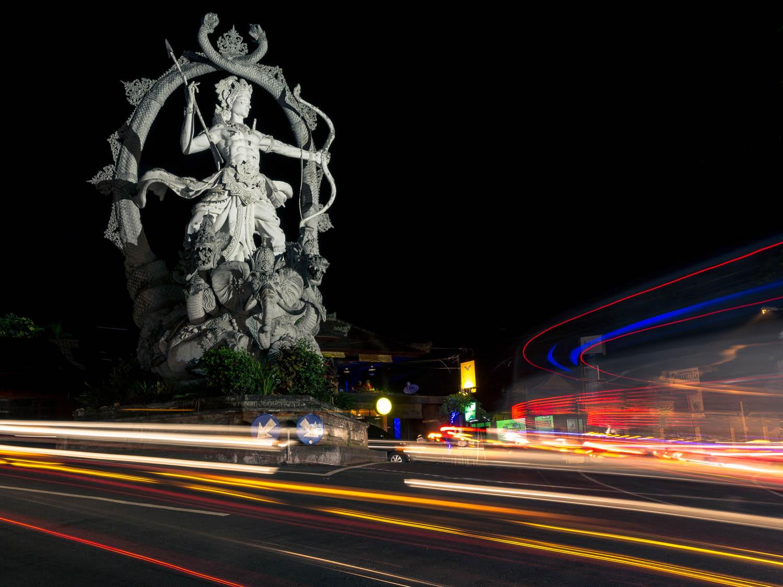 Statue of Arjuna in Ubud