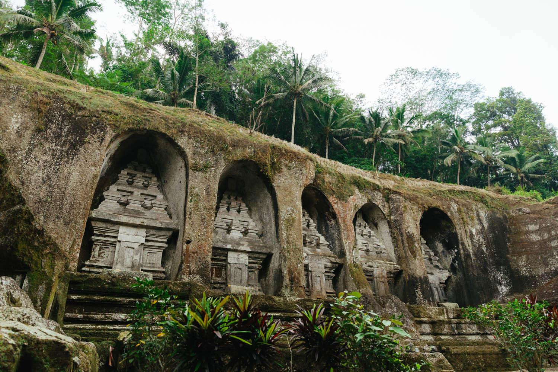 Gunung Kawi temple near Tampaksiring village