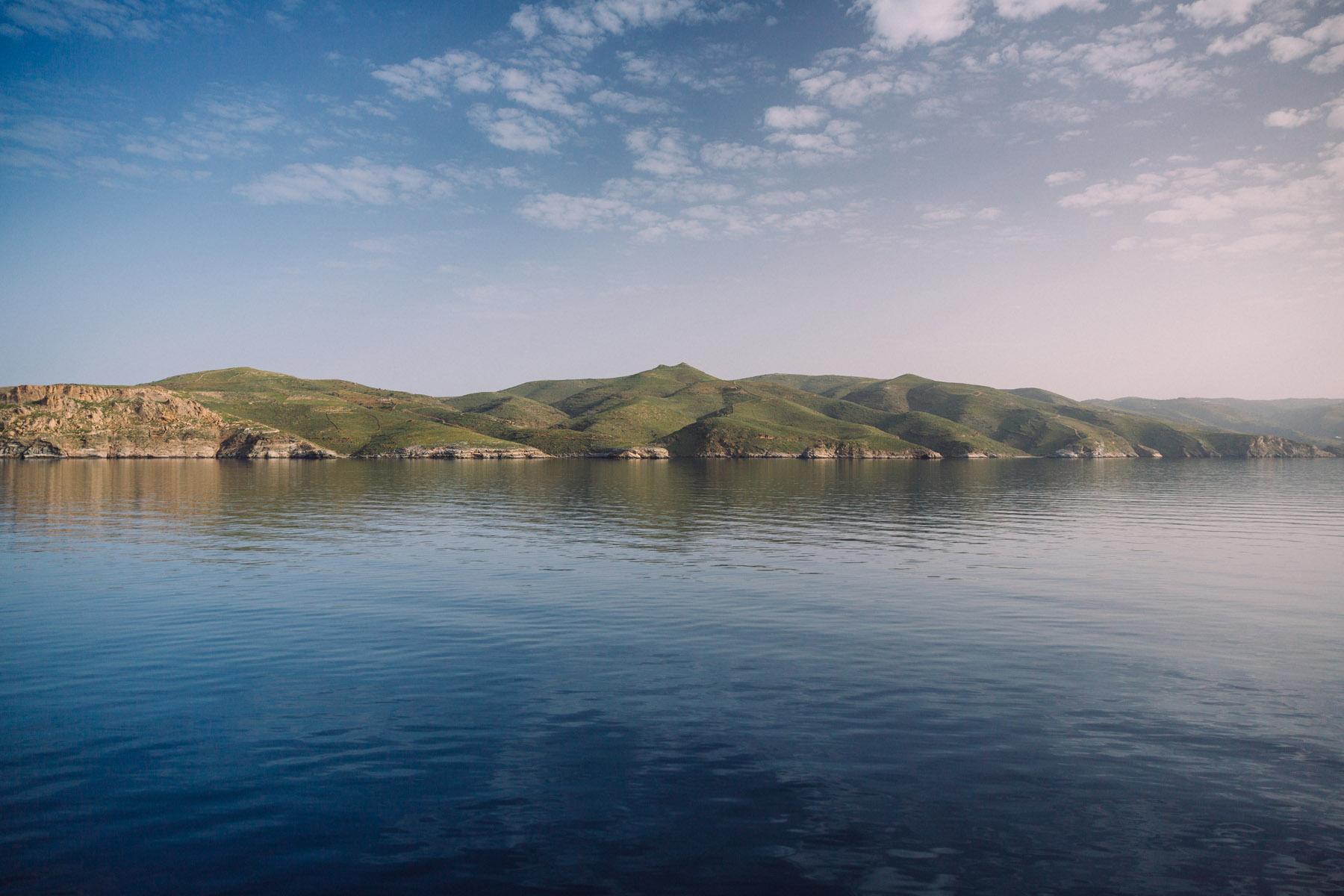 the island of Kea, en route to Mykonos