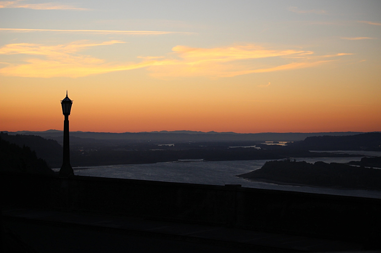 Sunset at Vista House