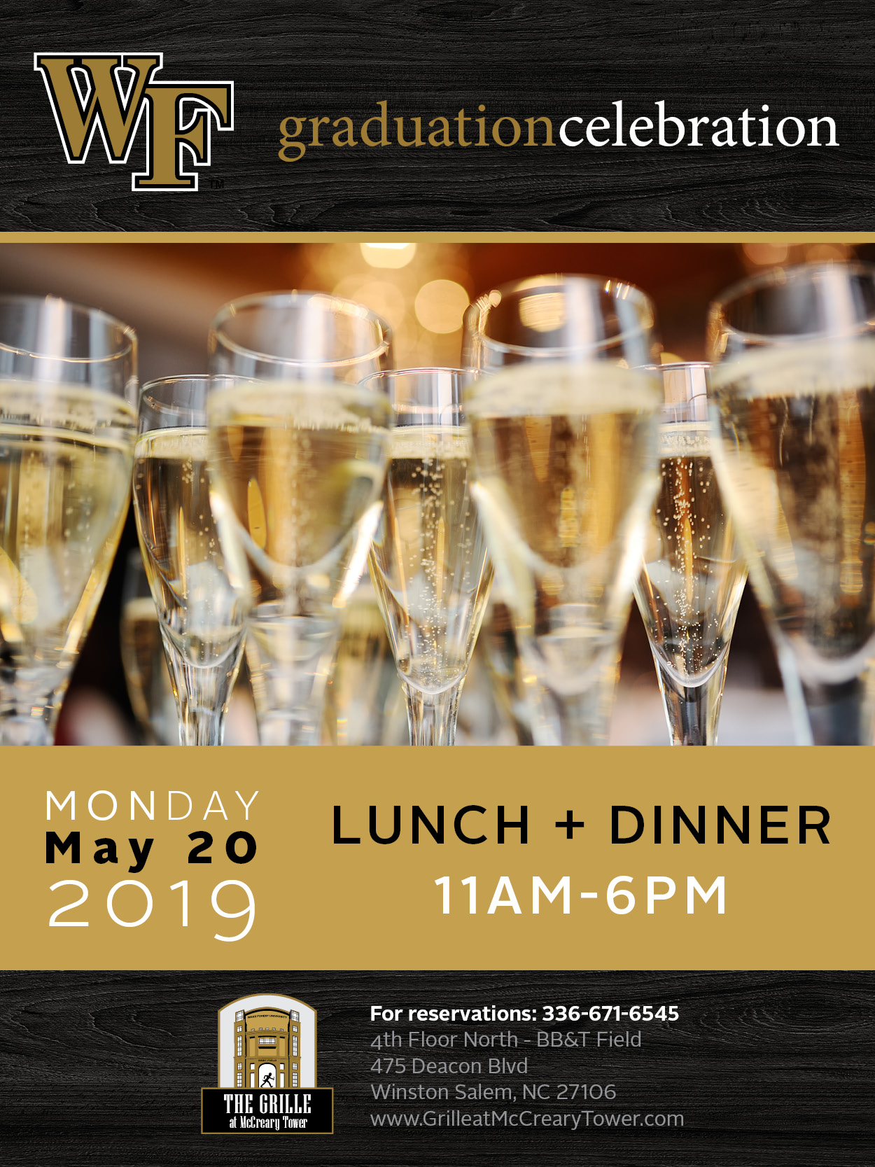 Graduation Celebration 2019 - Come join us as we celebrate this year's graduates!