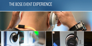 BOSE Event Experience - Product & Service