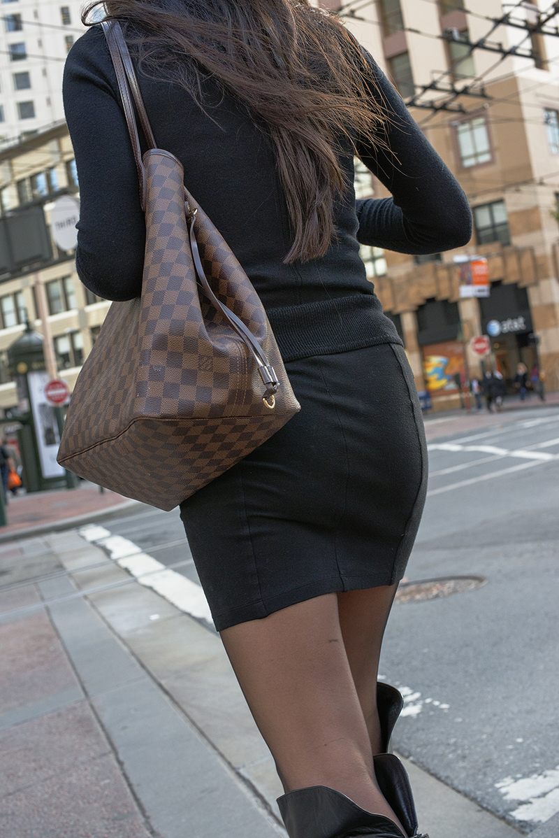 Lady with Checkered Bag.jpg