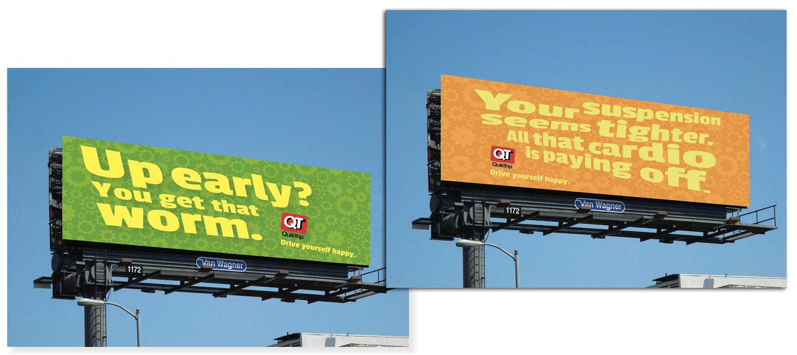 Standard billboards