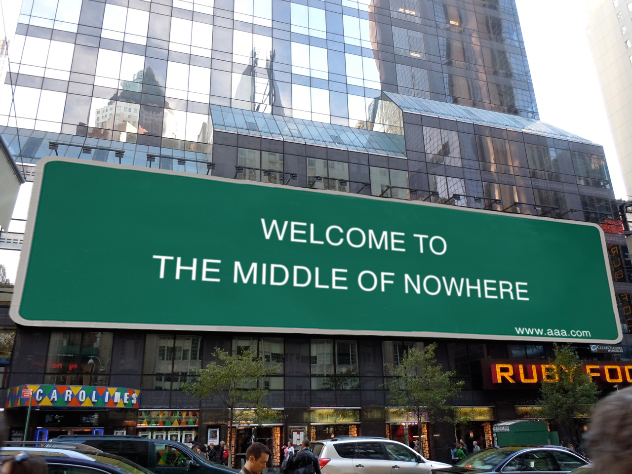 The middle of nowhere is closer than you think