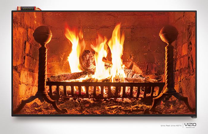 Fireplace - Print