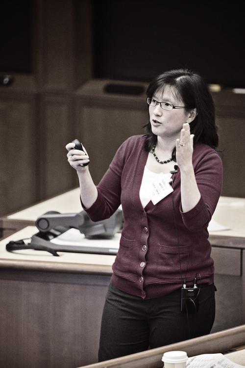 Maria Yang speaking at xDesign Conference at Harvard, Jan 2013