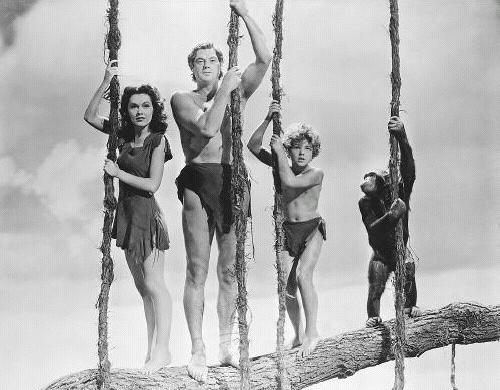 Tarzan and the fam.