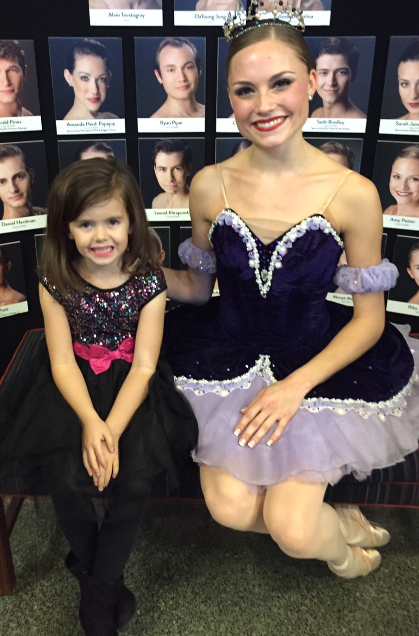 Thats Karlee, on the left. Today she will be the star!