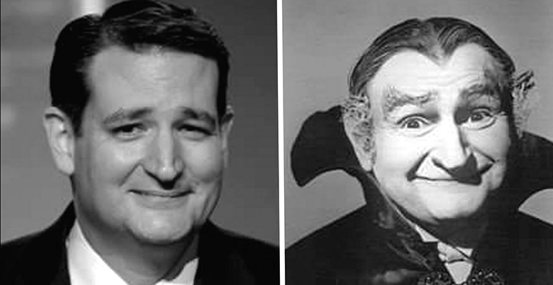 candidate cruz and grandpa munster