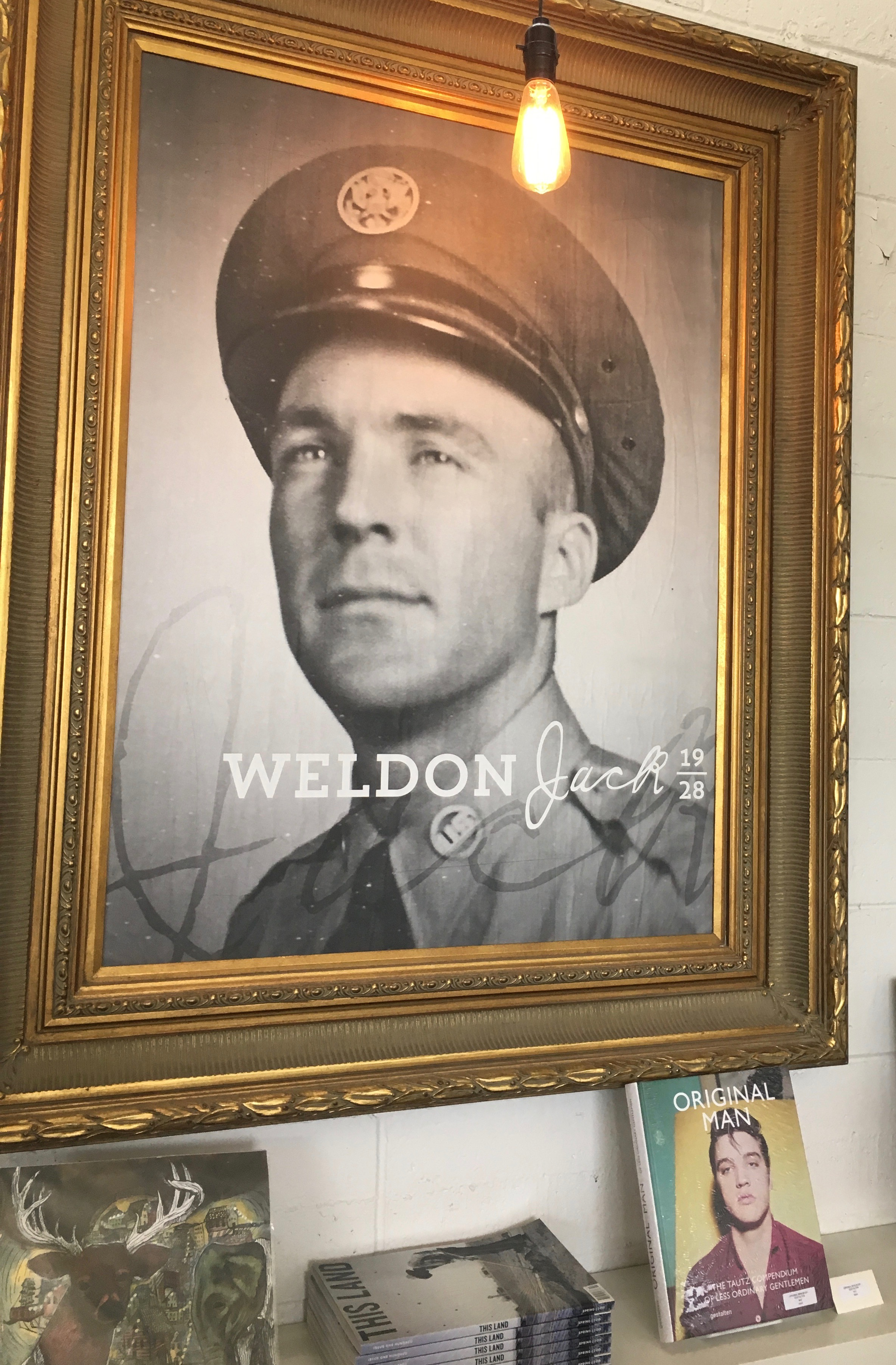 Jerrod named his shop after his grandfather, Jack Weldon Smith
