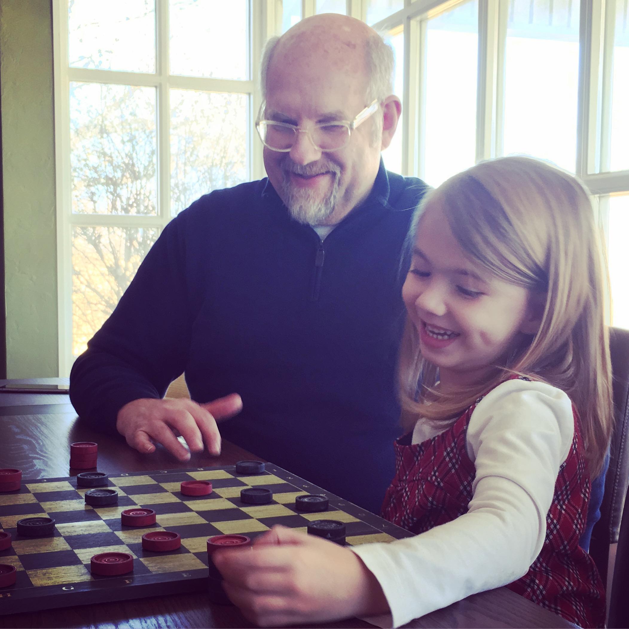 Harper & Pops & Checkers