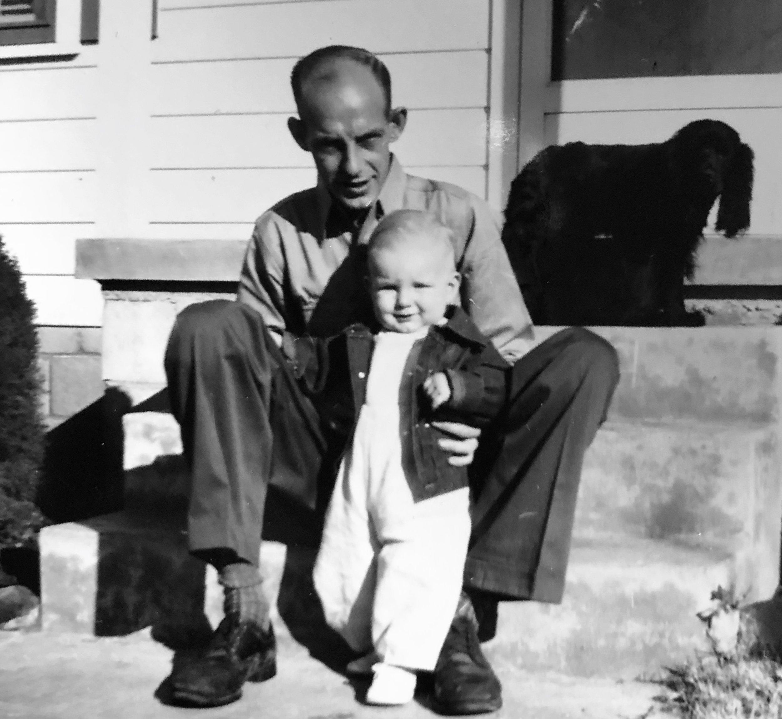Dad, me and Calidonia
