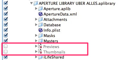 A quick check in Crashplan's selection dialog confirms that the expressions work.