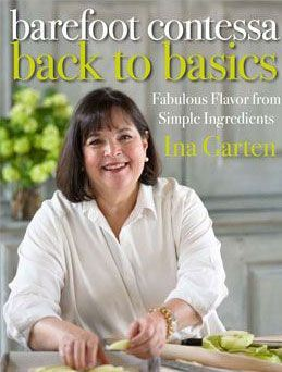 Buy this cookbook now! If you like autographed cookbooks, Ina sells them from her  web site ! Fun!