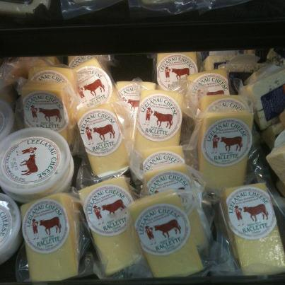 Leelanau Raclette gets scarce in the summer. But it is back in stores up north! Woo Hoo!