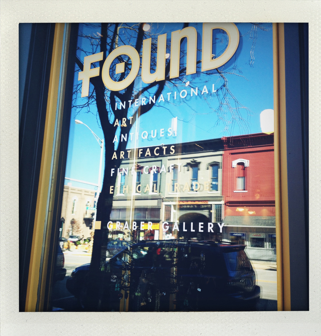 Plan on a good hour or more to explore all of the goodies at Found.