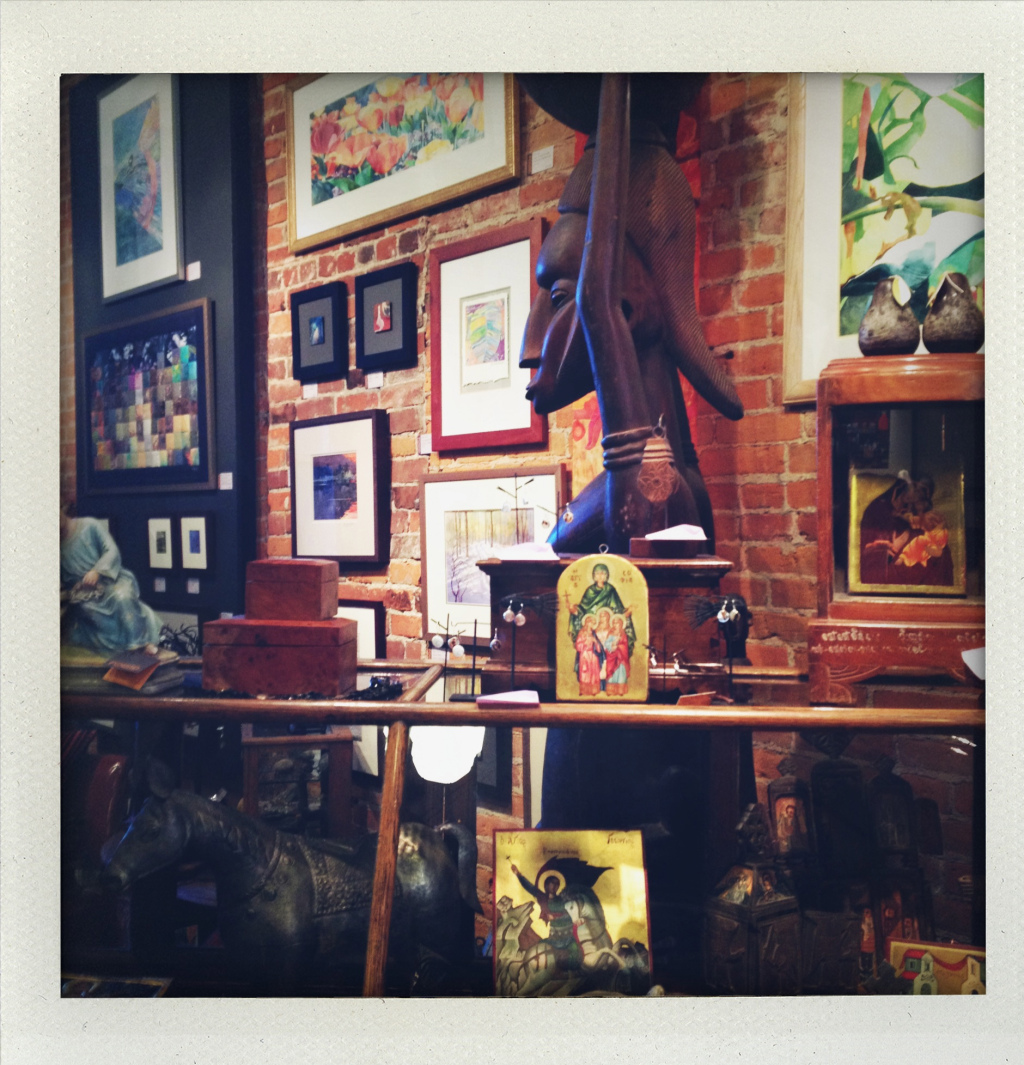 Interior of Found. Transported me to China, Cambodia, Ethiopia. Not what I expected in Goshen!