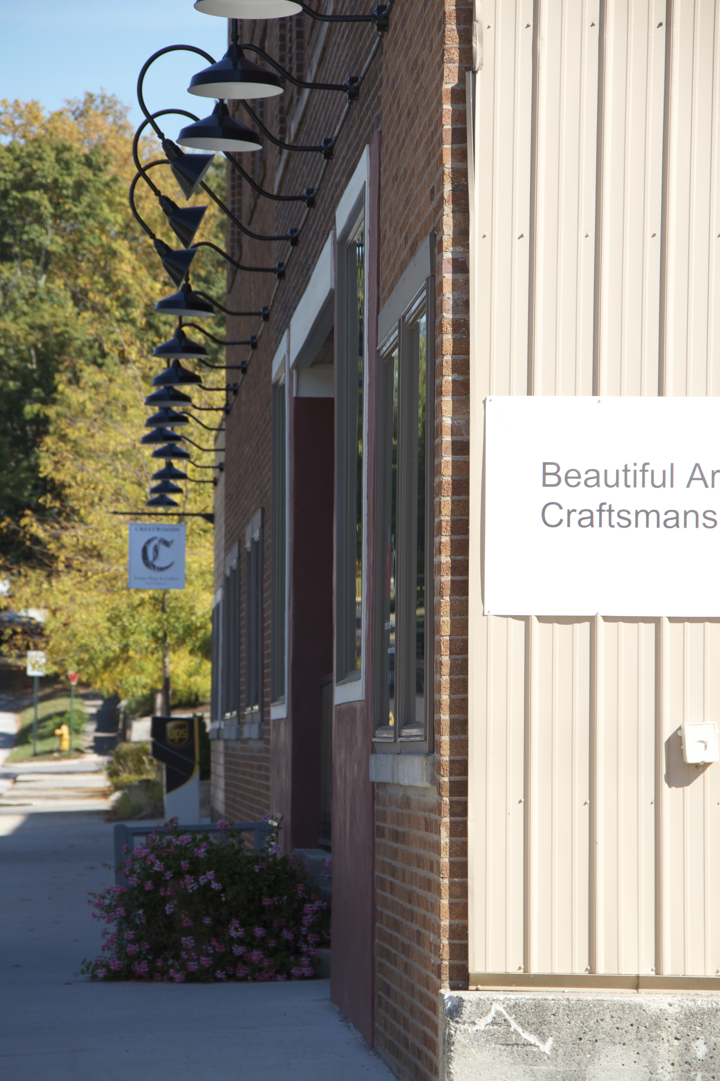 Next door neighbors--the Coil Factory which features Crestwood Galleries and its small town service with big city sophistication.