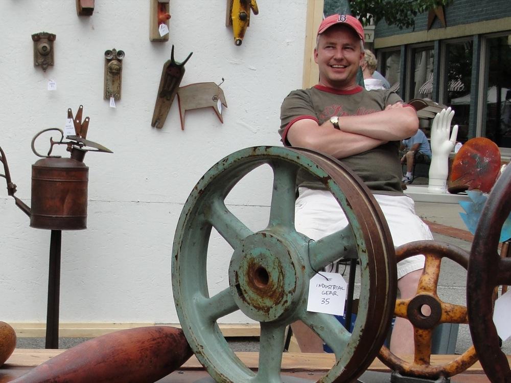 Antiques and Arts Fair. Via  disoverroanoke.org