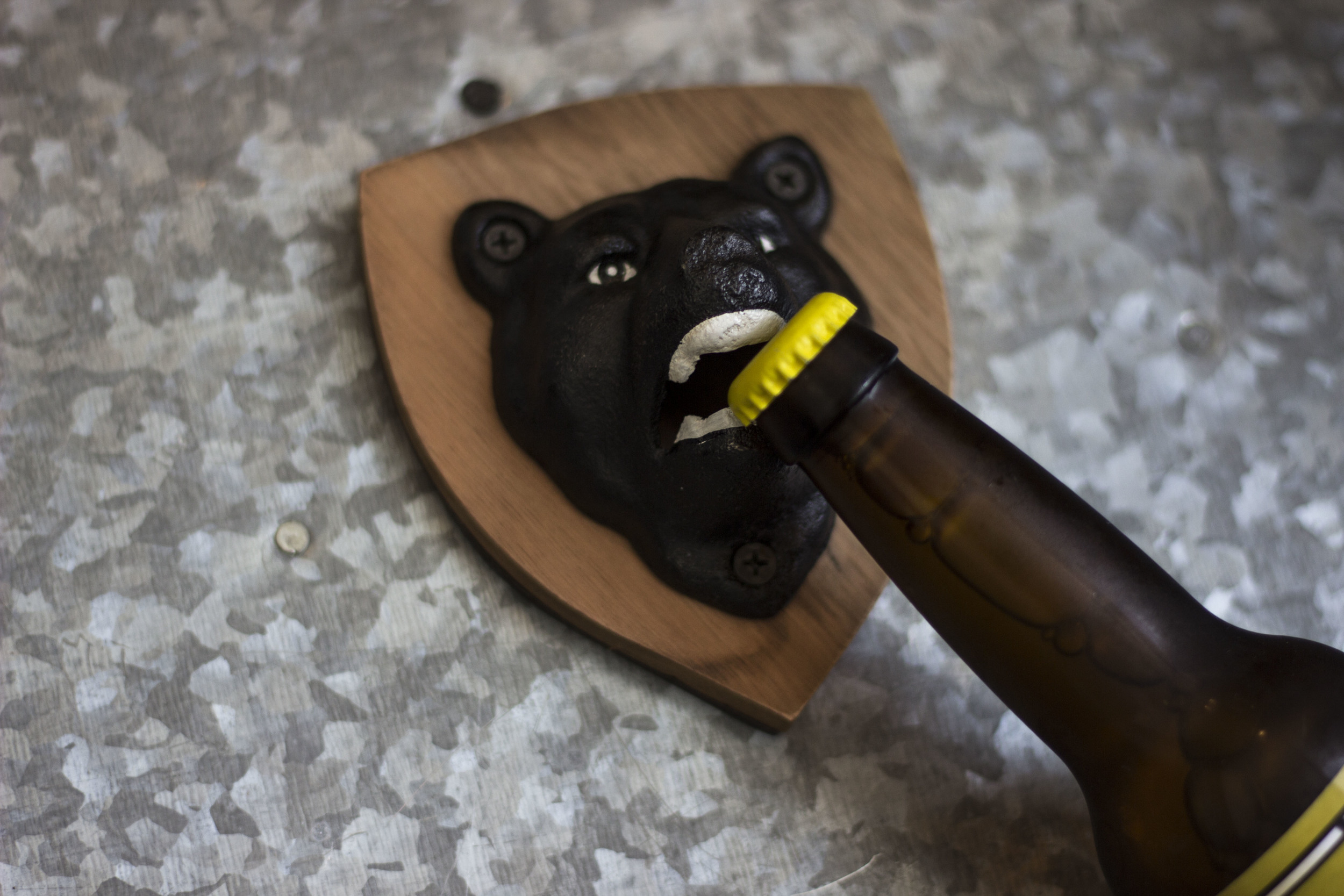 BOTTLE OPENER BEAR