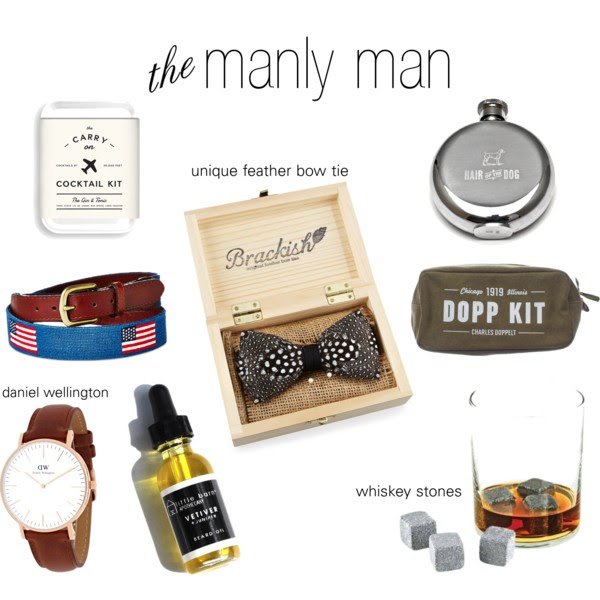 manly man gift guide