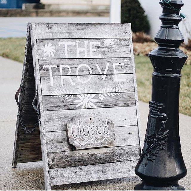 WE WANT TO SAY A BIG THANK YOU TO EVERYONE WHO'S EVER SHOPPED AT THE TROVE IN ROANOKE. WE'VE HAD AN ABSOLUTE BLAST AND WE CAN'T WAIT TO BEGIN OUR NEW ADVENTURE! ❤️