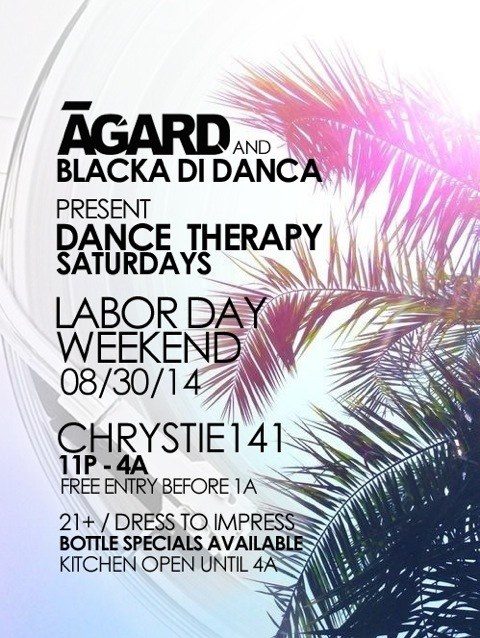 Dance Therapy (Labor Day Edition)