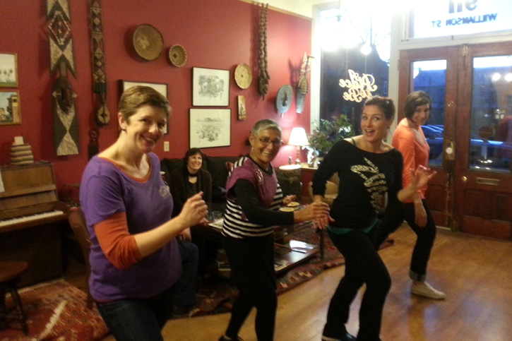 Zumba Connection at A Place to Be