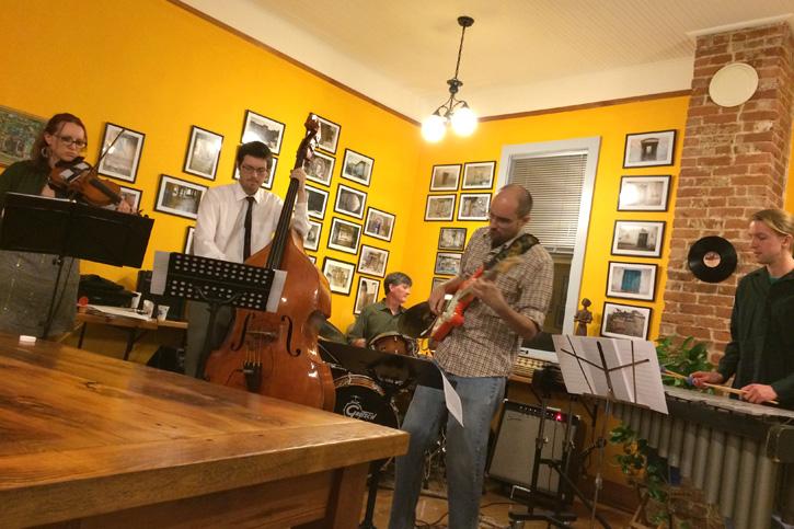 Basement Quintet Jazz Collective