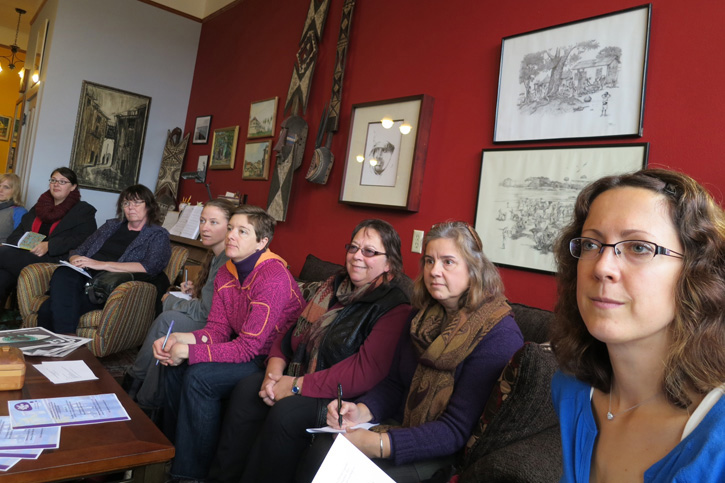 Monthly meeting of the Women's Business Network