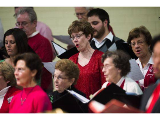 Sanctuary Choir                                 Photo/Orange County Register