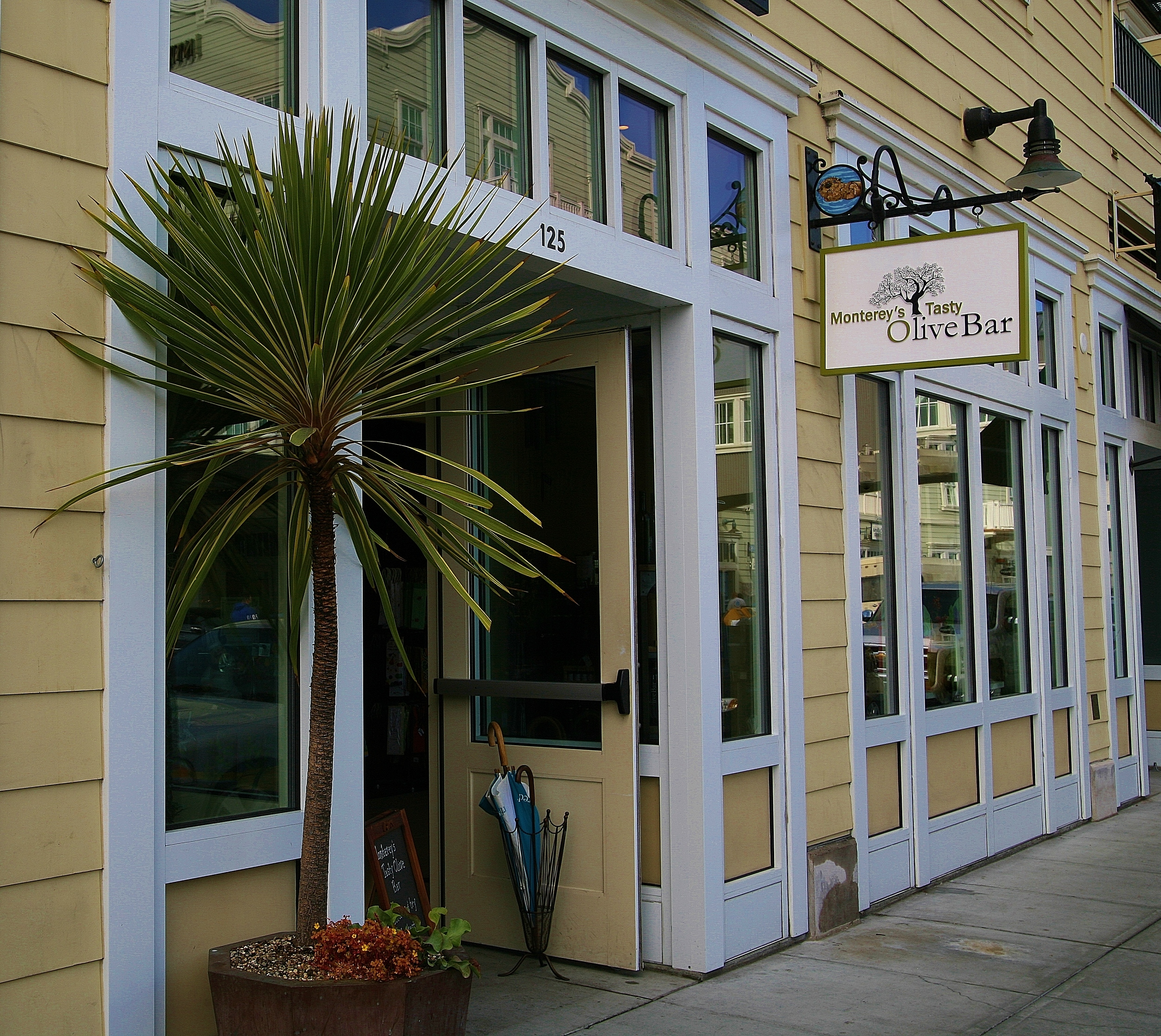 Come visit, taste, and relax in our store on Cannery Row.