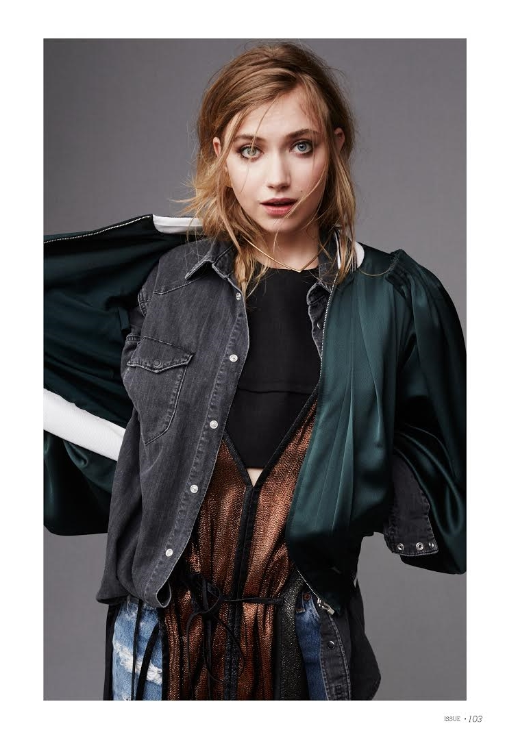 Imogen Poots for ISSUE Magazine