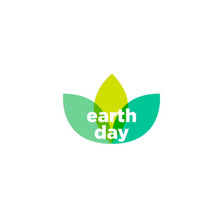 Commemorating Earth Day with a microsite logo