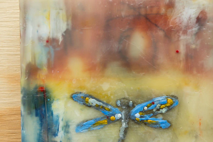 Abstract Dragonfly (Detail)