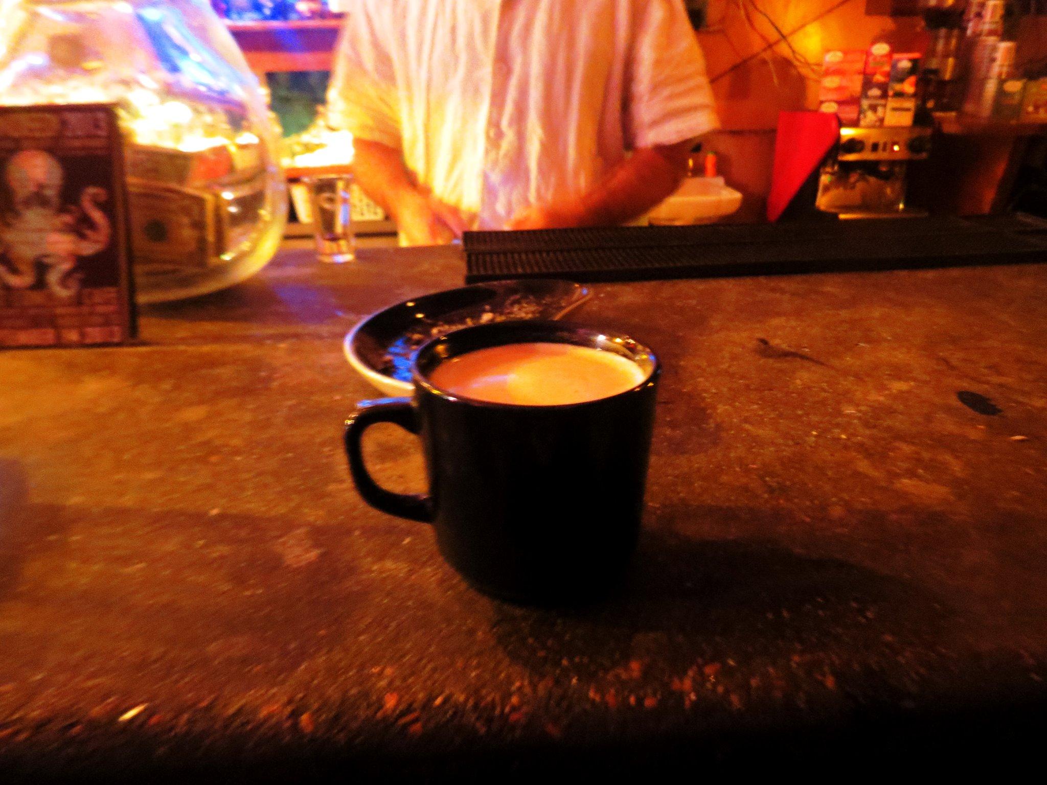 esspresso tequila and latte