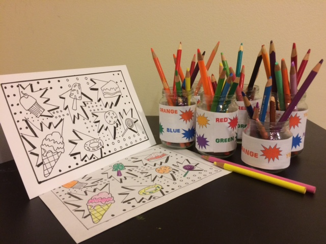 Coloring Card Workshops
